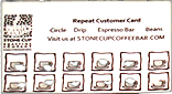CoffeeConnect punch card